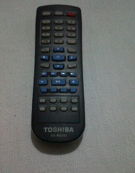 Control Remoto Negro De Dvd Toshiba