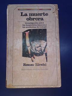 Libro La Muerte Obrera