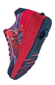 Tenis Patines Cklass Spiderman Niños Marvel 073-09