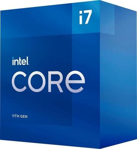 Imagen 1 de 6 de Procesador Intel Rocketlake Core I7-11700 11va Gen S1200