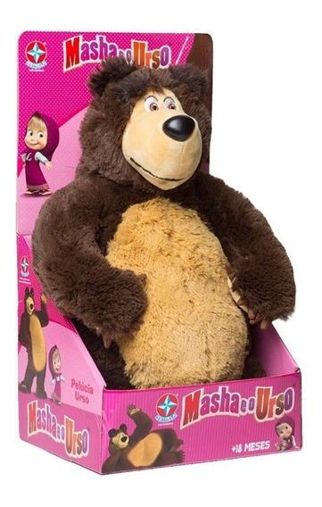 Pelucia Urso 40cm Da Masha - Estrela