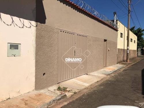 Casa Com 3 Dormitórios À Venda, Campos Elíseos - Ribeirão Preto/sp - Ca1590