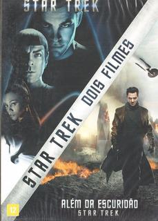Dvd - Star Trek - Coleção 2 Filmes - Chris Pine - Lacrado
