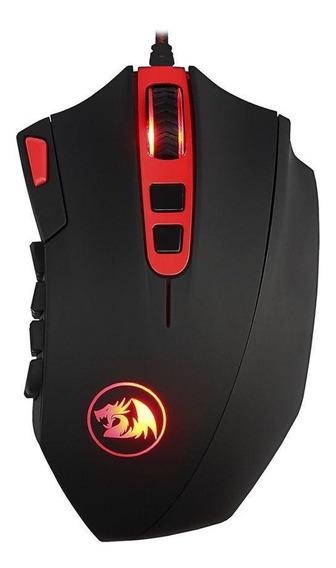 Mouse Gamer Redragon Perdition 2 24000dpi Com Fio Novo