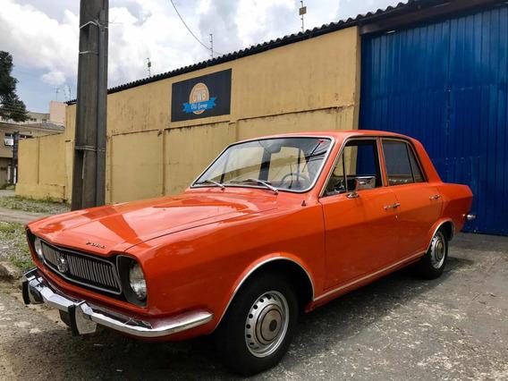 Ford Corcel Luxo 4 Portas Placa Preta 1974