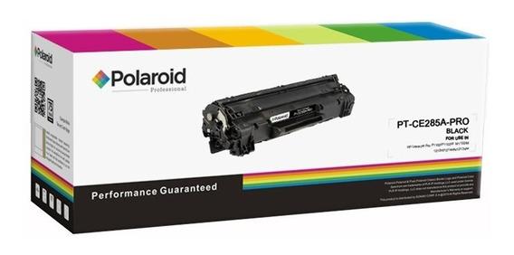 Tóner De Repuesto Polaroid Remplaza Hp Ce285a Negro