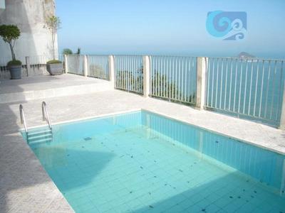 Casa Com Vista Para O Mar No Condomínio Península - Praia Da Enseada - Guarujá - Ca1336