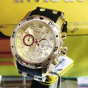 Relógio Invicta Pro Diver 17884 - Ouro 18k Masculino/ 200m
