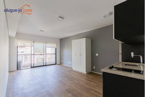Apartamento Com 1 Dormitório Para Alugar, 37 M² Por R$ 3.200/mês - Bela Vista - São Paulo/sp - Ap12572