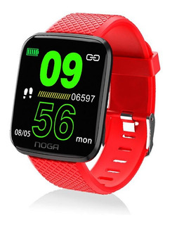 Reloj Inteligente Smartwatch Noga Sw02 Running Presion Gtia