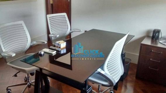 Conjunto Comercial Para Locação, Centro, Santos - Cj0018. - Cj0018