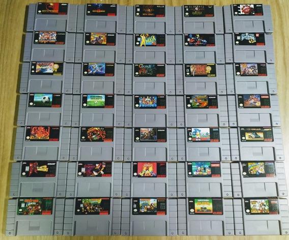 Jogos De Nintendo! Super Nintendo Valor Unitáriomario,donkey