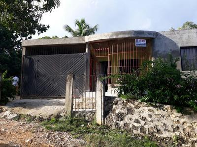 Casa Y Terreno Senbrada De Frutos 4 Tarea Platano