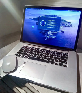 Macbook Pro Core I7 + 8 Gb 256 Ssd + Nvidia Geforce 15 !