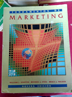 Libro, Fundamentos Del Marketing 9na Edición.