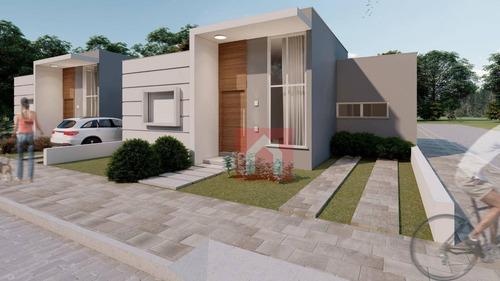 Imagem 1 de 10 de Casa Com 2 Dormitórios À Venda, 64 M² Por R$ 198.000,00 - Conventos - Lajeado/rs - Ca0232
