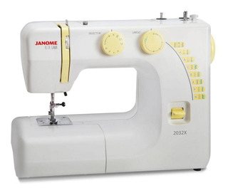 Máquina de coser Janome Alta Gama 2032X blanca 220V
