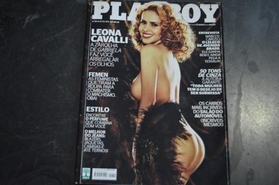 Playboy 449 Leona Cavalli Revista