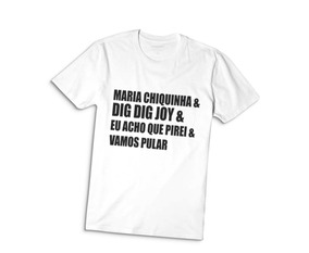 Camiseta Camisa Unissex Sandy E Junior Nossa História 2019