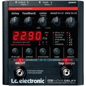 Pedal De Guitarra Tc Electronic Nova Delay Digital Nd-1