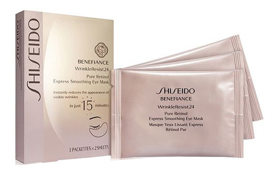 Rejuvenescedor Para Área Dos Olhos Shiseido - Benefiance Wrinkle Resist24 Pure Retinol Kit