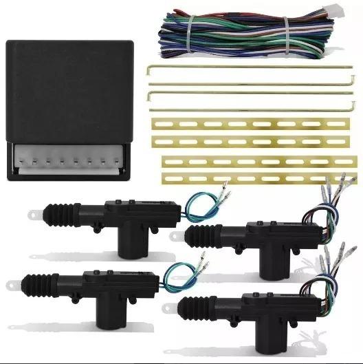 Kit Travas Eletrica Universal 4 Portas Dupla Serventia
