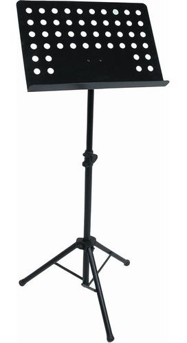 Imagen 1 de 6 de Atril Para Partitura Pedestal  Director Regulable