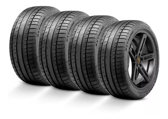 Kit 4 Pneus 185/60r15 88h Continental Extremecontact Dw