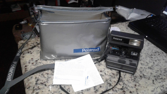 Máquina Polaroid 636 Closeup Com Bolsa