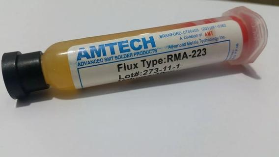 Fluxo De Solda Amtech Rma 223 10cc Bga Reballing
