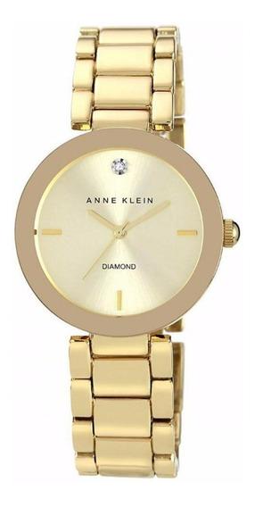 Relógio Anne Klein Ladies Dourado Ak/1362chgb