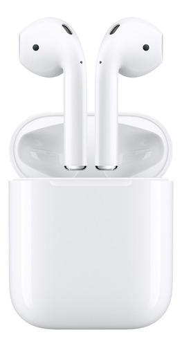 Imagem 1 de 2 de Fone De Ouvido Sem Fio Apple AirPods 2 Mv7n2am/a Modelo 2019