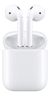 Fone De Ouvido Sem Fio Apple AirPods 2 Mv7n2am/a Modelo 2019