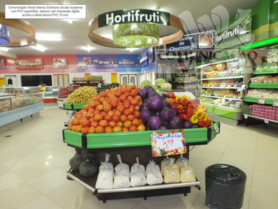 Comunicação Visual Interna Supermercados