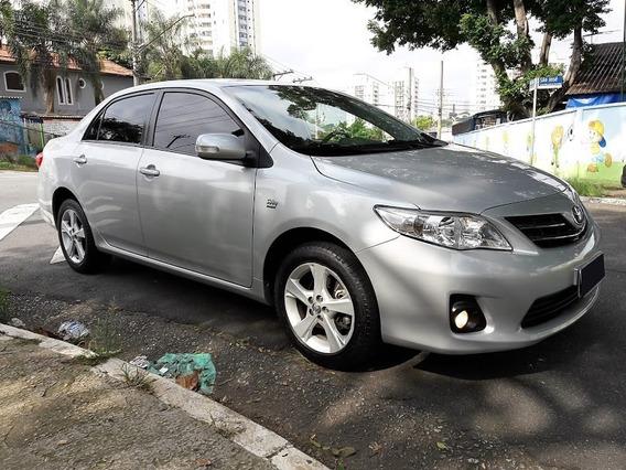 Toyota Corolla Xei 2.0 Flex At 2014 Prata Cod:.1011