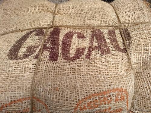 Costal Henequen Cacao Nuevo 10 Piezas