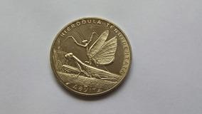 Moeda Cazaquistão (31mm) - Fauna - 50 Tenge - Tiragem 50.000