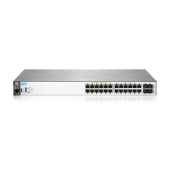 Switch Hp 2530-24g 24 Puertos 4 Sfp Port Administrable J9776