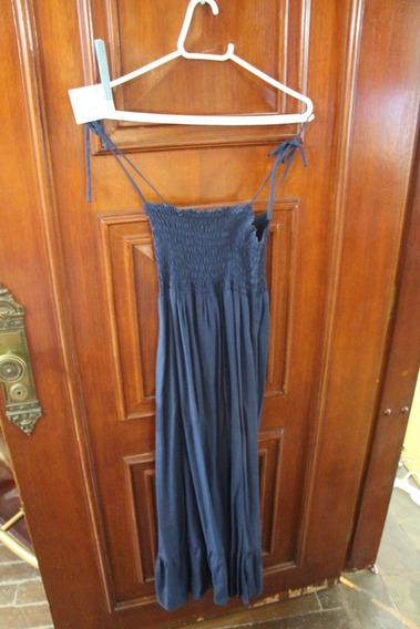 = Roupa Lote 612 Mulher Vestido Azul Clock House 38 Frizado