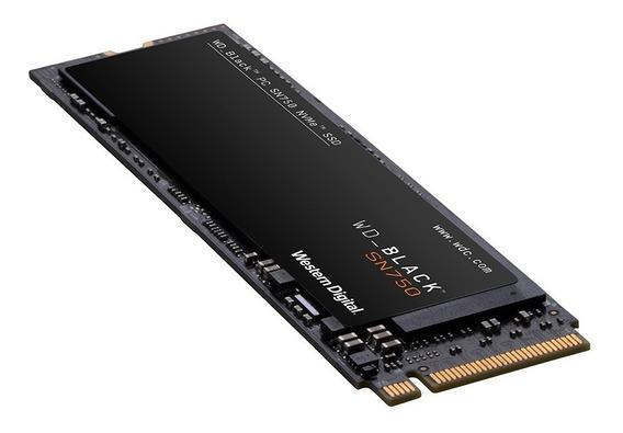 Lançamento Wd Black Sn750 Ssd M.2 2280 1tb Pcie Nvme