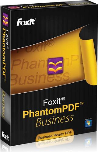 Foxit Phantom Pdf Business + Chave 32 Bits Ou 64 Bits