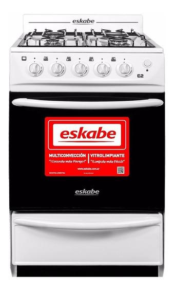 Cocina Eskabe Eco 2 Co E2 Bc Blanca Gas Natural