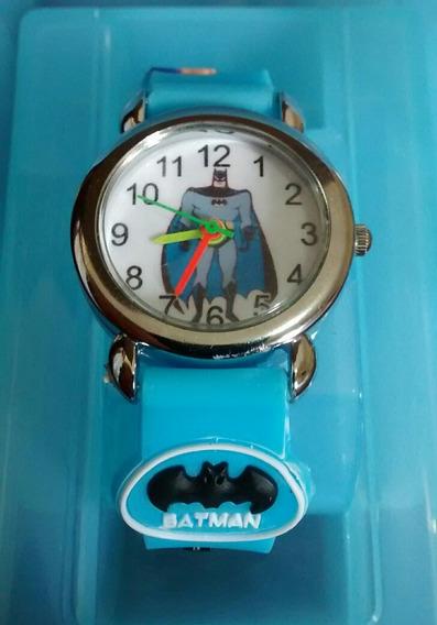 Relógio Do Batman Kit Com 2