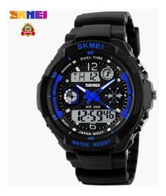 Relógio Masculino Skmei Militar Shock Original Prova D
