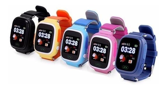 Reloj Celular Gps Smart Watch Pantalla Touch Localizador Satelital Para Niño Espia Con Sensor De Quitar Q90