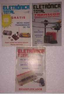 7 Revistas Eletrônica Total (anos 80/90)