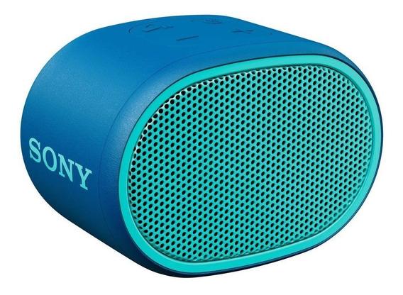 Caixa De Som Sony Srs-xb01 Bluetooth Portátil Azul