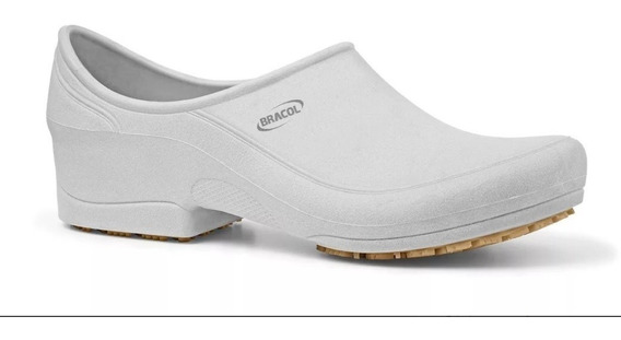 Sapato Ocupacional Antiderrapante Impermeável Bracol Flip