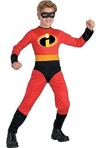 Traje Oficialmente Do De Dash Hero De The Incredibles Rojo