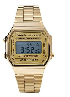 Dorado Vintage En A168wg 9vt Relojes Joyas Reloj Y Casio JlKuF13cT